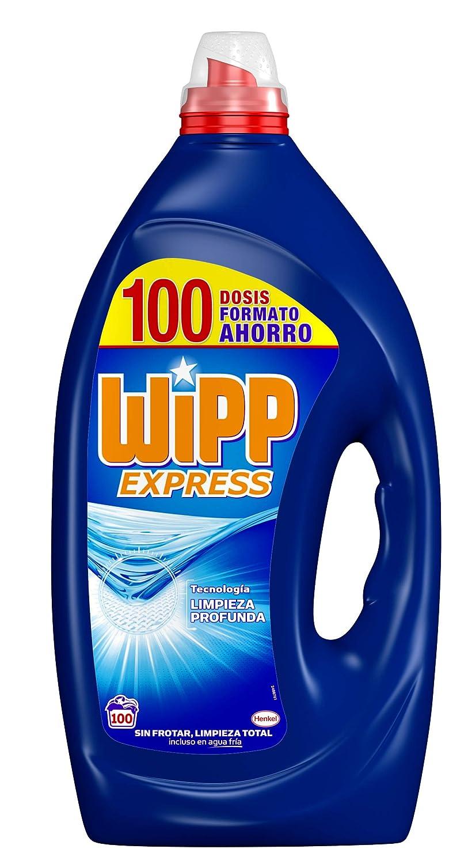 Wipp Express Detergente Líquido - Pack de 2 - Total: 62 Lavados (3,1 L)