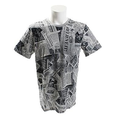 Camiseta Nike Dri-fit Kyrie Newspapper Masculina - Cores(cinza) Tamanho  Camiseta( ed7122530d17a