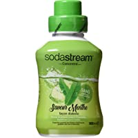 Sodastream Concentré Sirop Saveur Menthe pour Machine à Soda 500 ml