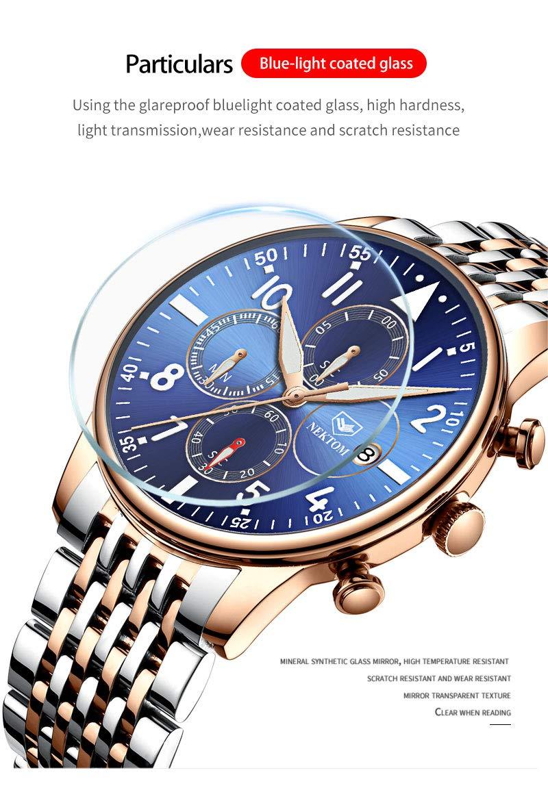 Herrklocka stål klocka kvarts armband vattentät datum klocka herrklocka herrklocka herrklocka herrklocka G8195H G8195i