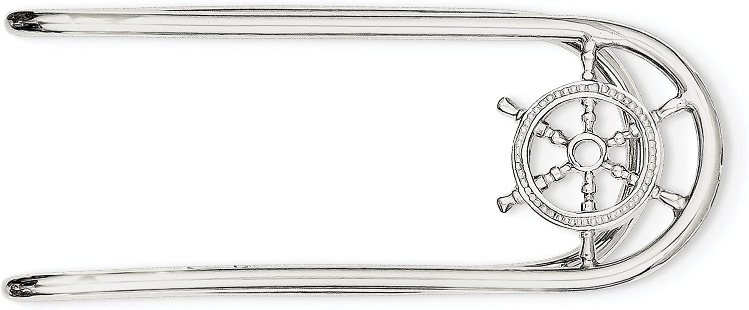 925 Sterling Silver Money Clip fine jewelry gift for women