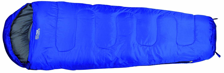 Highlander - Saco de Dormir Infantil Sleepline 300 Mummy Junior, Color Azul Royal, tamaño único, SB039J-RB-01: Amazon.es: Deportes y aire libre