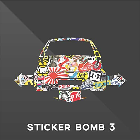 Erreinge Sticker Fiat Punto Sticker Bomb Down And Out Dub