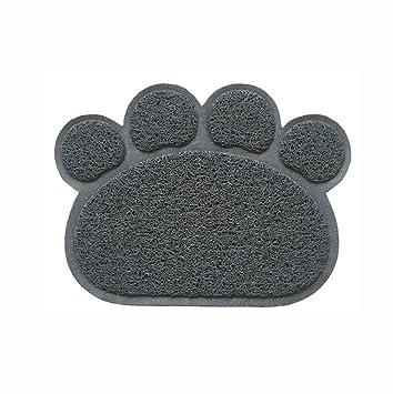 Pet Candy Alfombrilla de Arena para Gatos y Mascotas, Alfombrilla para trampas, Alfombrilla de
