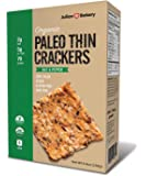 USDA Organic Paleo Thin Crackers (Low Carb -Gluten Free) Net Wt 8.4 Oz (238g)