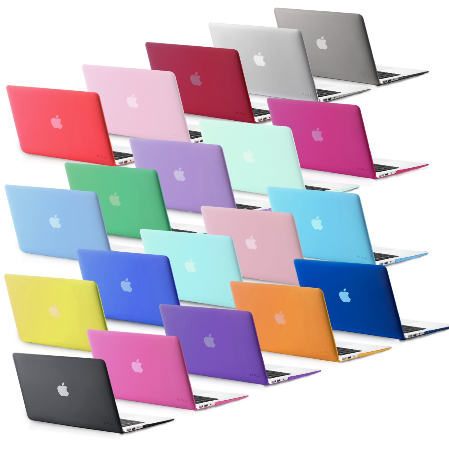 Kuzy Compatible with MacBook Air 13 inch Case 2017 2016 2015 Older Version A1466 A1369 Soft Touch Hard Shell Cover for…