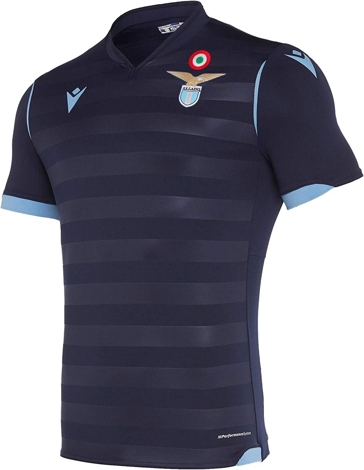 Macron SSL M19 Gara Third Ufficiale Mm Sr Camiseta, Hombre