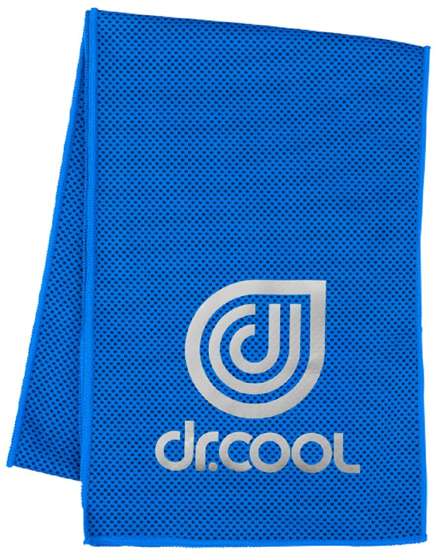 Dr.Cool Chill Sport Cooling Towel, Electric Blue Lemonade (Electric Blue Lemonade)