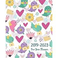 Five Year Planner 2019-2023: Monthly Schedule Organizer