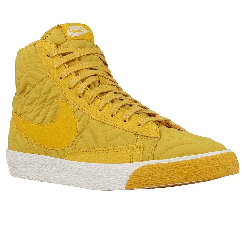 Nike Wmns Blazer Mid PRM SE - 857664700 - Color Honey - Size: 7.5
