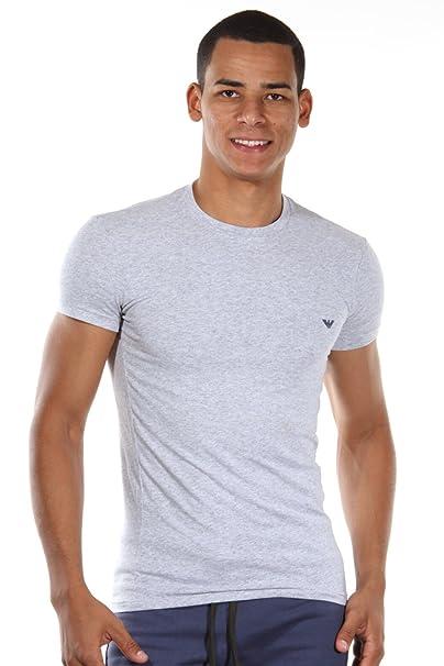 Emporio Armani - Camiseta Interior - para Hombre Gris Melange Grey XXX-Large