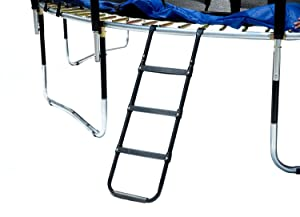 ExacMe Trampoline Ladder Wide-Step with 3 Platform Steps