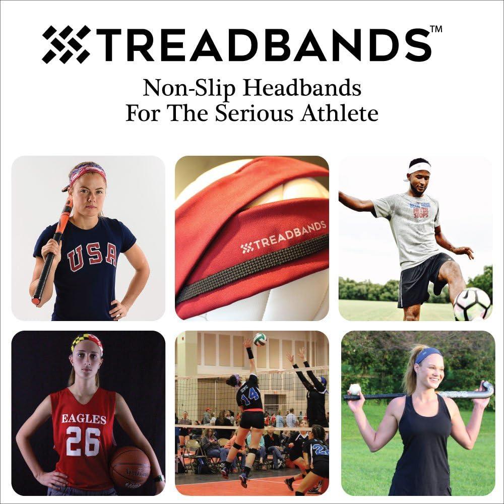 Designs TREAD BANDS TreadBands All Terrain Tieback Non Slip Headband