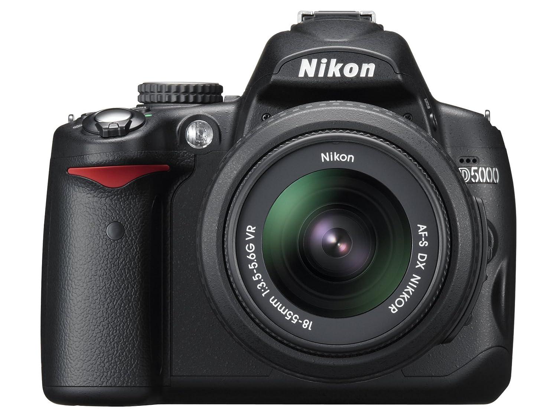 Nikon Digital SLR Cámaras D5000 Kit de Lentes d5000lk: Amazon.es ...