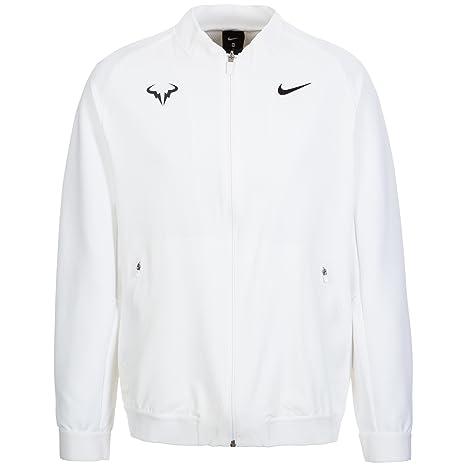 26fcbad4768c Buy Nike Men s Premier Woven Tennis Jacket X Large (White