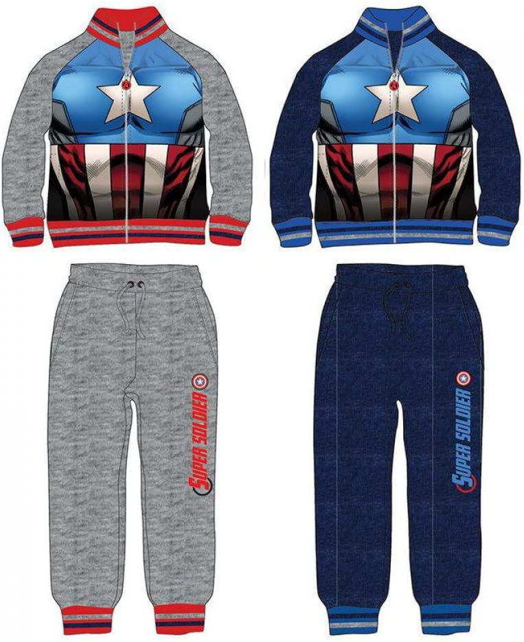 Chandal Capitan America Vengadores Avengers Marvel surtido: Amazon ...