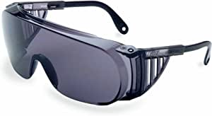Uvex S0360X Ultra-spec 2000 Safety Eyewear, Orange Frame, SCT-Orange UV Extreme Anti-Fog Lens, S0280X, UV Extreme Anti-Fog, Gray