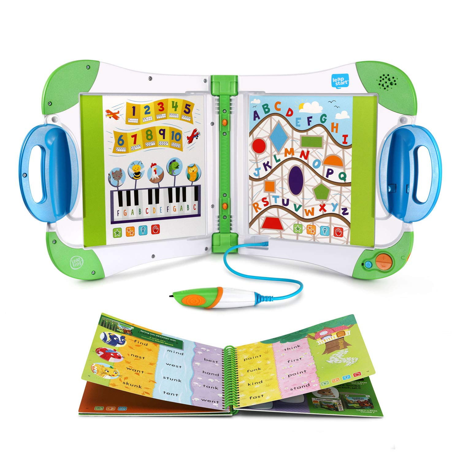 LeapFrog LeapStart Interactive Learning System, Green (Frustration Free Packaging) by LeapFrog