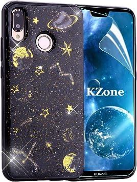 OKZone Funda Huawei P20 Lite, [Serie Noche Estrellada] Cárcasa ...