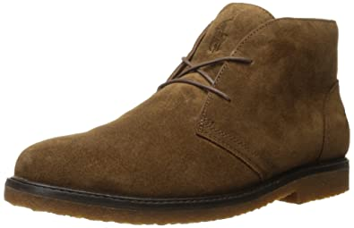 Mens Polo Ralph Lauren Marlow Suede Brown Boots Z85745