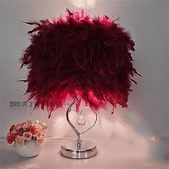 YU-K Ideas de decoración caseras elegantes lámpara de mesa lámpara ...