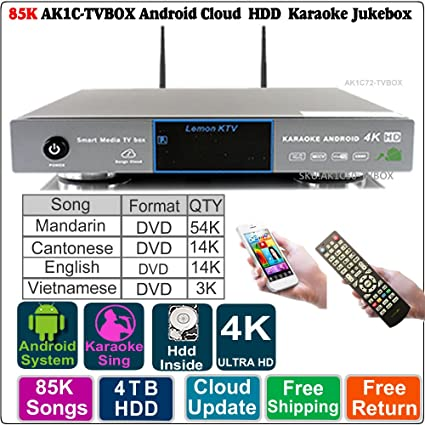 Review Android AK1C-TVBOX HDD Karaoke