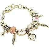 Rosemarie Collections Bracelet à breloques pour femme Thème infirmière