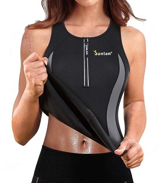 Amazon.com: Junlan - Camiseta de neopreno para mujer, para ...