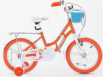 Kids de 16 pulgadas para bicicleta, rueda de apoyo para las niñas con, Hi Spec, 3 - 6 años: Amazon.es: Deportes y aire libre