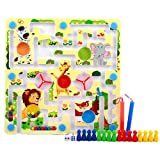 Elloapic Happy Zoo Interactive Maze Puzzle Pen