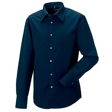 Russell Collection Herren Hemd Tencel, Langarm, pflegeleicht: Amazon.de:  Bekleidung