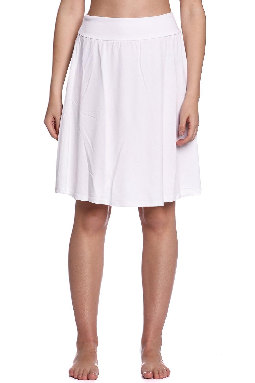 4739ba6faf Abbino 10991 Faldas para Mujer - Hecho en ITALIA - 11 Colores - Entretiempo  Primavera Verano