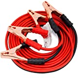 kenvi US Auto Battery Booster 2.21 Meter || Jumper Cable Battery Storage || Wire Clamp with Alligator Wire || Clamp to Start Dead Battery || Emergency Line Truck Off Road || (500 Amp) || K-23