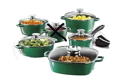 GSW de cocina alu-de hierro fundido de ollas y sartén de horno con tapa