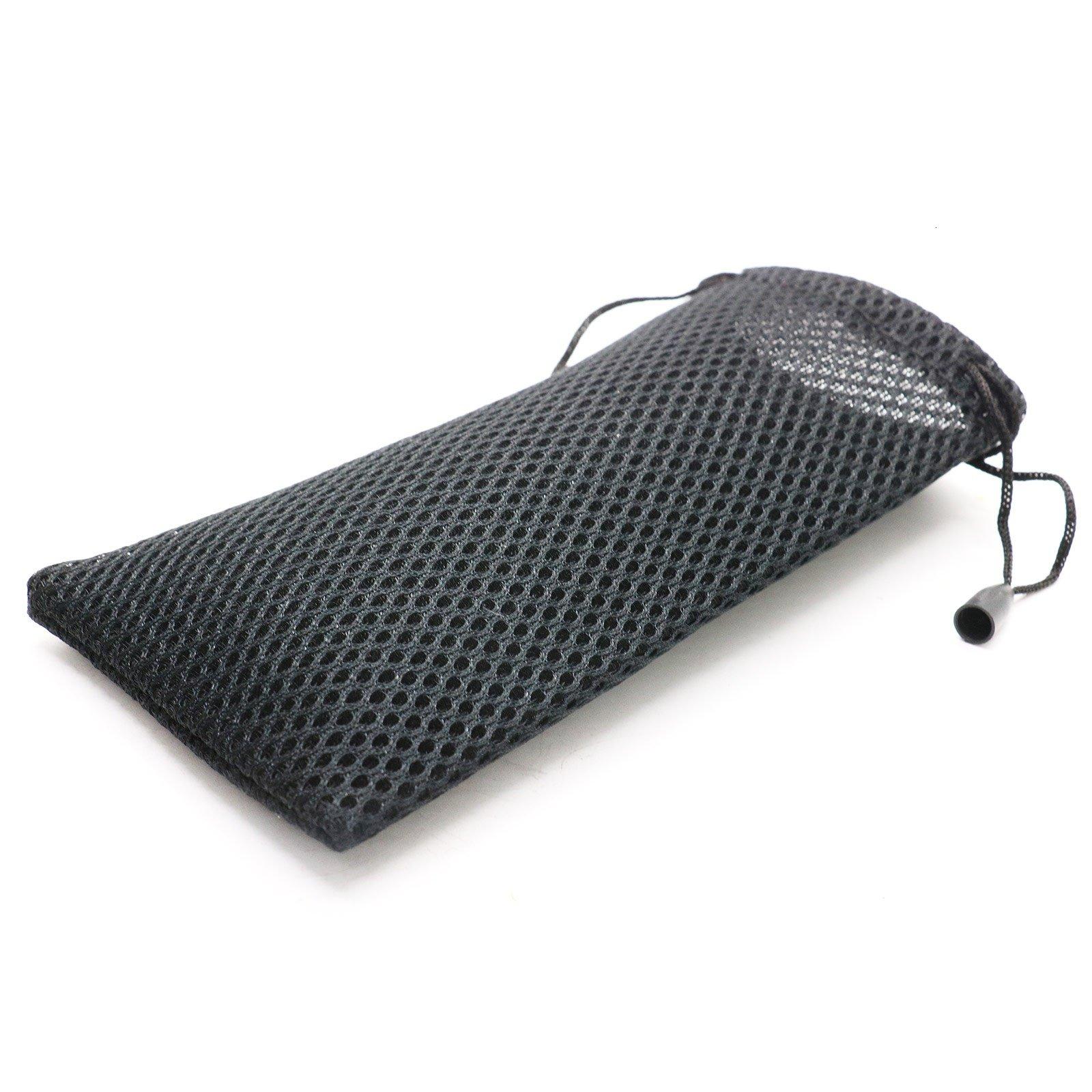 MAISHO 20pcs Nylon Mesh Drawstring Bag Pouches for Sunglasses Cellphone Mp3
