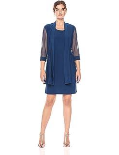 950f1158c501f R M Richards Women s Size 2 Piece Mesh Panel Beaded Neck Jacket ...