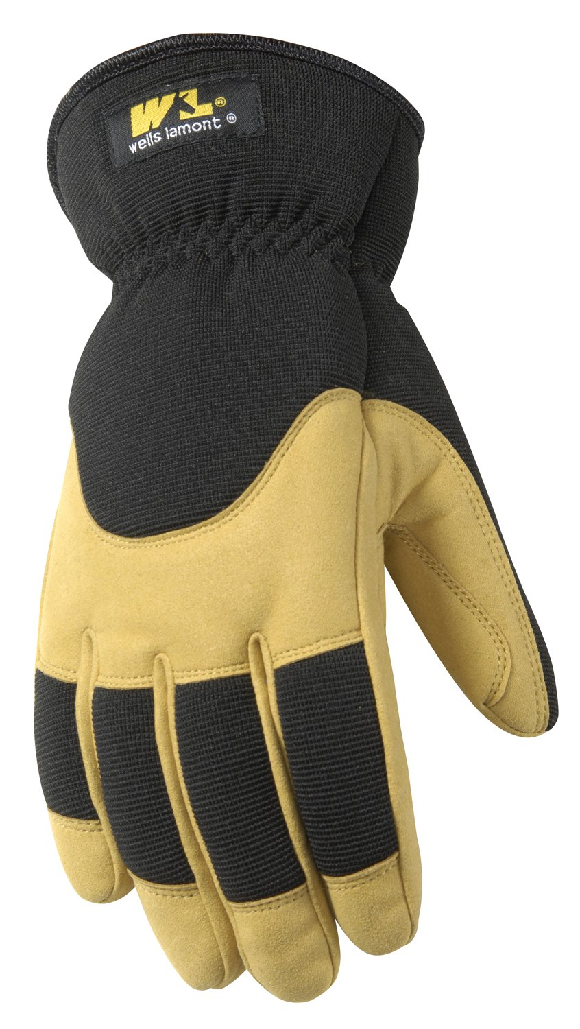 Insulated leather work gloves amazon - Wells Lamont Synthetic Leather Work Gloves Insulated Cold Weather Large 7092l Amazon Com
