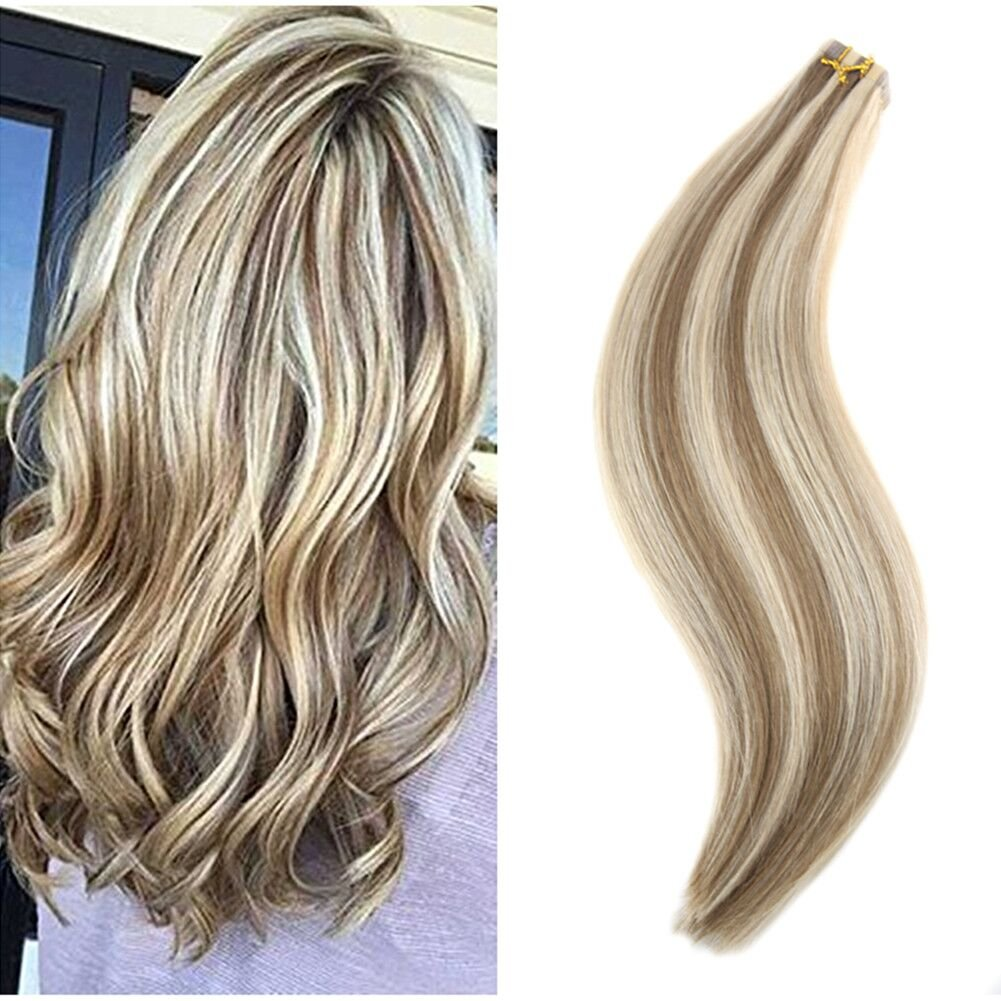 Amazon Ugeat 14 Inch Seamless Tape Hair Extensions Piano Color