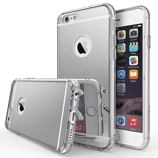 18 opinioni per iPhone 6 / 6S Custodia, Ringke FUSION MIRROR Tutto Nuovo Polvere Copertura Cap &