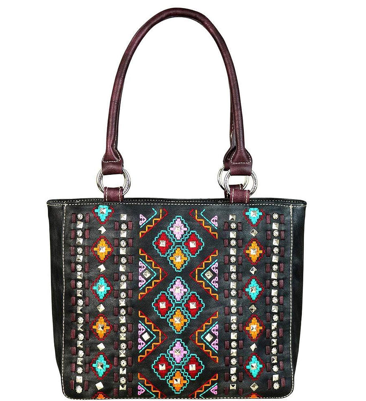 Sunlome Magic Cloud Castle Pattern Handbags For Women Girls PU Leather Shoulder Tote Bag