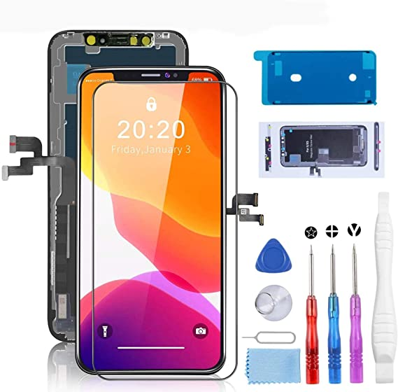 Deluxe Cell Phone Repair Tool Kits Compatible with iPhone 7 9 in 1 Repair Tool Set Repair Kits