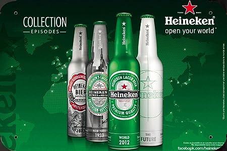 Metal Poster Cartel Hojalata Signo de Heineken Beer ...