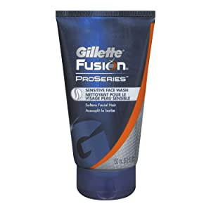 Gillette Fusion Proseries Sensitive Face Wash, 150-ml (Pack of 2)