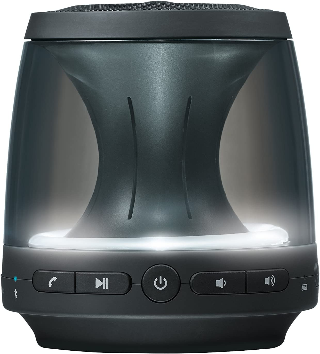 LG PH1 - Altavoz portátil (Bluetooth, sonido 360, micrófono, microUSB) Color negro
