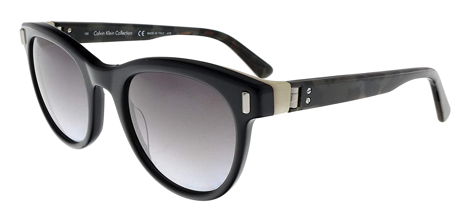 da22788c2e96 Calvin Klein CK8542S 001 Black Round Sunglasses for womens at Amazon Men's  Clothing store: