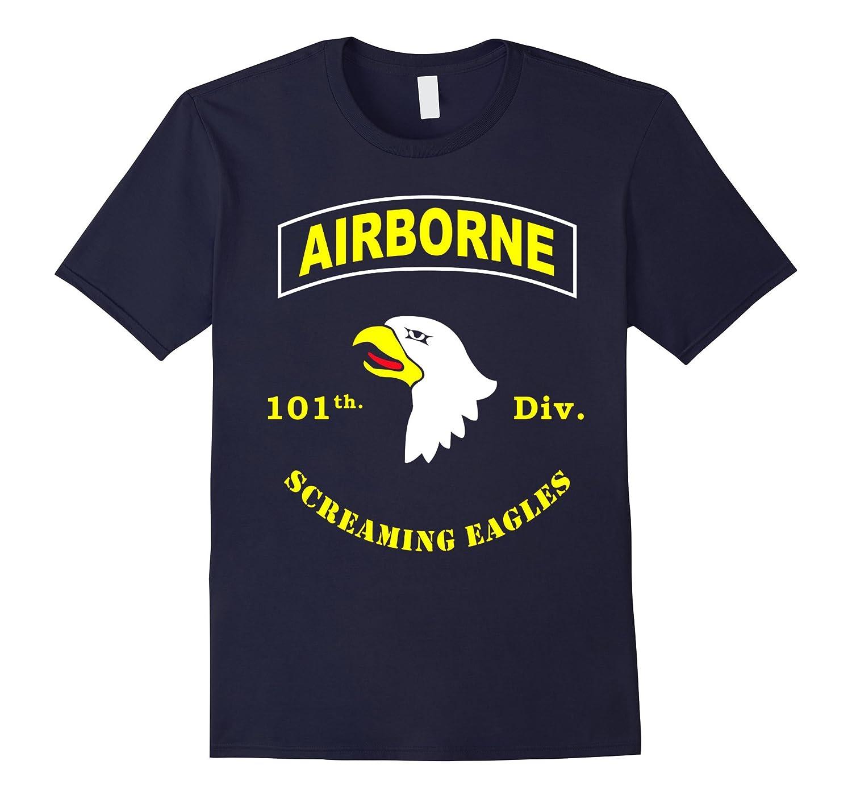 101st Airborne Division - Screaming Eagles Tshirt-TH