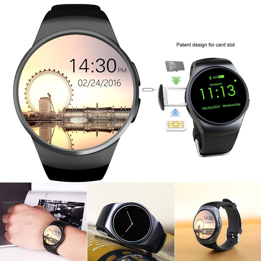 Asiright KW18 Smart Watch Bluetooth Smart wear Bluetooth ...