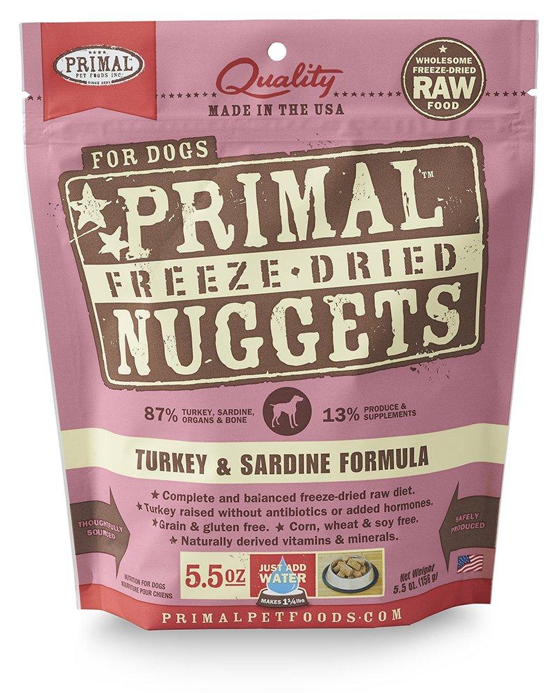 Primal Pet Foods Freeze-Dried Canine Turkey Formula 5.5 Oz