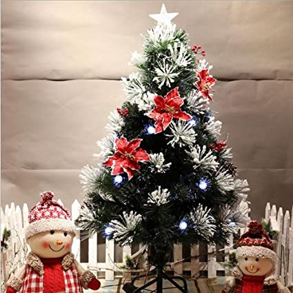 jin christmas fiber optic christmas tree creative light small and medium sized christmas tree shopping