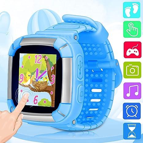 Amazon.com: Reloj inteligente para niños con pantalla táctil ...